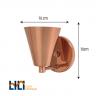 luminaria arandela arandela cobre polido classico e27 munclair p 1598376930225
