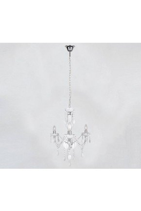lustre g-light lucerna branca