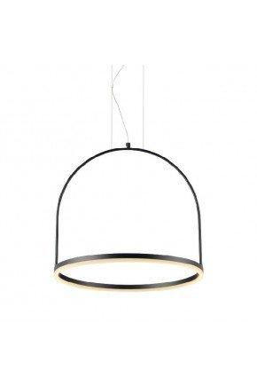luminaria pendente led integrado cage pt avant lili casa e construcao