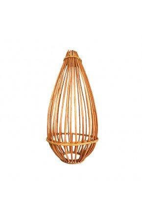 lanterna de cha gaiola fibra natural vime lili casa e construcao