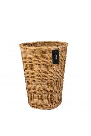 vaso cone 45 fibra natural vime fundo madeira etiqueta lili casa e construcao